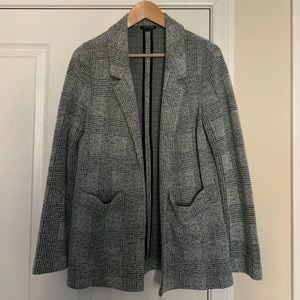 Topshop Plaid Blazer